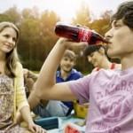Coca Cola trinken