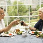 Ehepaar beim Essen