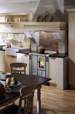 Feuer im Küchenherd