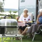 Grillen beim Camping
