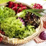 Salat essen
