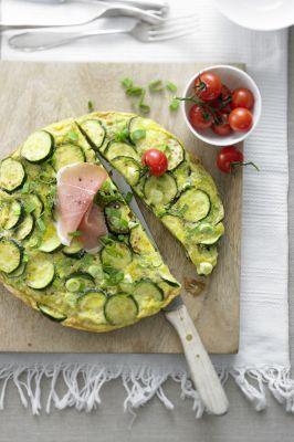 Tortilla mit frischem Gemüse